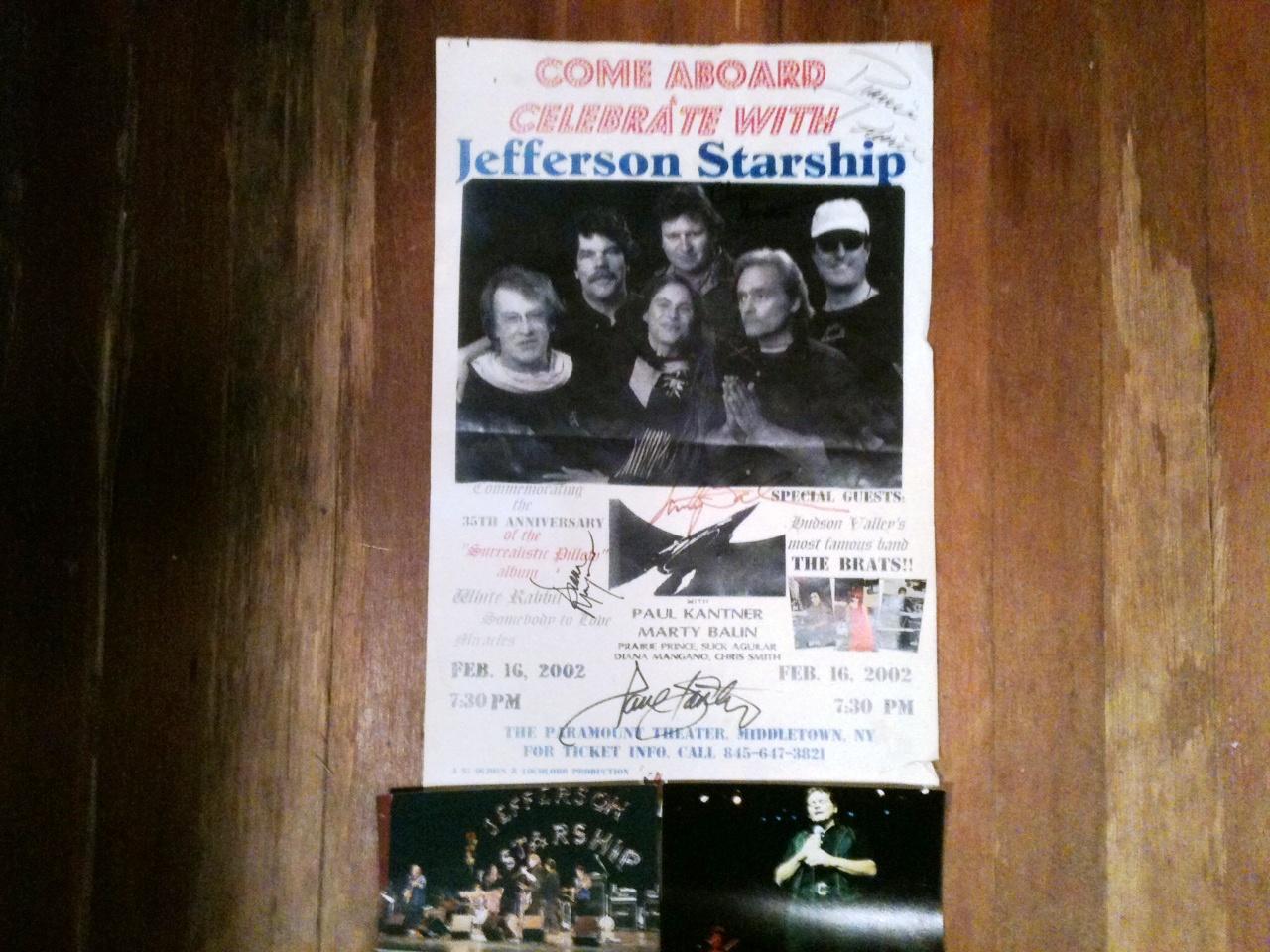 Jefferson Starship Private Room